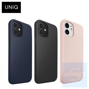 "UNIQ - Hybrid Antimicrobial Lino Hue iPhone 12 mini 5.4"" 保護殼 ( 3色 ) Liquid Silicone"