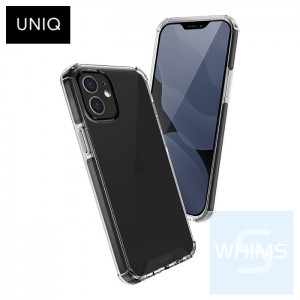 """UNIQ - Hybrid Carbon Black Combat iPhone 12 mini 5.4"""" 保護殼"""