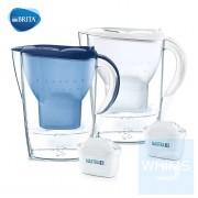 Brita - Marella XL 3.5L濾水壺(藍/白色) 包含1濾芯