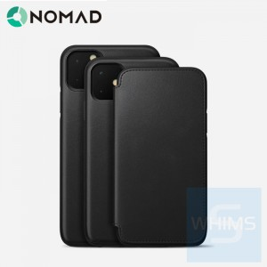 "Nomad - Rugged Folio 多功能手機殼 適用 iPhone 12 (5.4"" / 6.1"" / 6.7"") (仿古棕/黑色)"