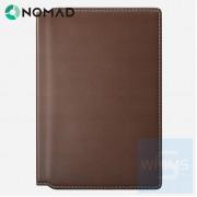 Nomad - 超薄護照包 Passport Wallet Modern Edition 標準版 棕色