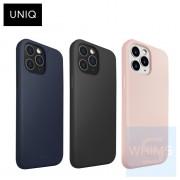 "UNIQ - Hybrid Antimicrobial Lino Hue iPhone 12 Pro Max 6.7"" 保護殼 ( 3色 ) Liquid Silicone"