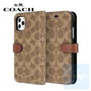 """Coach - Folio 卡其色 iPhone 12 / 12 Pro - 6.1"""" 皮套"""