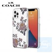 """Coach - 喜怒無常全包邊 iPhone 12 Pro Max - 6.7"""" 透明防撞底殼"""