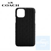 """Coach - 經典SignatureC 浮雕 iPhone 12 Pro Max - 6.7"""" 皮革底殼"""