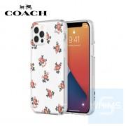 """Coach - 花香 iPhone 12 / 12 Pro - 6.1"""" 透明保護套"""
