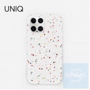 """UNIQ - Coehl Terrazzo - Natural White 手機殼 適用 iPhone 12 (5.4"""" / 6.1"""" / 6.7"""")"""