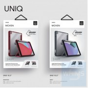 "UNIQ - Moven 多功能保護套 Apple iPad 10.2"" 2020 iPad 8th generation 2020 (Maroon)"