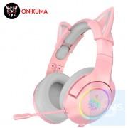 Onikuma 鬼熊 - 電競級RGB耳機麥克風 - 3.5mm插頭