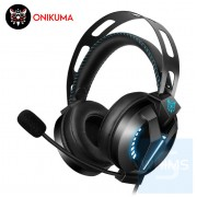 Onikuma 鬼熊 - M180PRO LED 耳機麥克風 - 3.5mm - 黑色