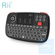 Rii - i4-RT726 Mini 無線+藍芽鍵盤鼠標觸控板 3 in 1 組合