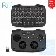 Rii - RK707 2.4Ghz 無線鍵盤鼠標+遊戲控制觸控 3 in 1 組合