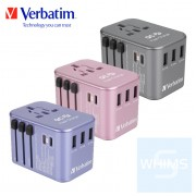 Verbatim - 5-Port 33WQC3.0/PD 旅行充電器