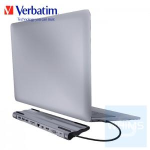 Verbatim - 11-in-1 Type C集線底座