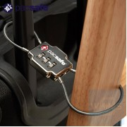 Pacsafe - TSA 3-Dial 雙纜密碼鎖