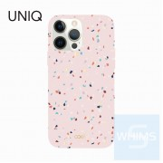 "UNIQ - Coehl Terrazzo - Blush Pink iPhone 13 / Pro / Pro Max (6.1""/6.7"") 手機殼"