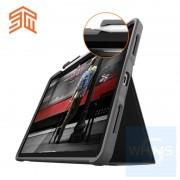 """STM - Dux Plus iPad ( Air / Pro 11"""" / Pro 12.9"""" ) 多功能黑色保護套"""
