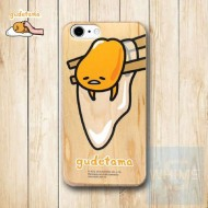 梳乎蛋 Gudetama (GU90W) 木殼 Wood Case for iPhone 系列