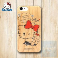 Hello Kitty (KT90W) 木殼 Wood Case for iPhone 系列