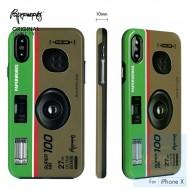 PAPERWORKS 懷舊相機 包邊殼 for iPhone X