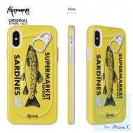 PAPERWORKS 沙丁魚罐頭 包邊殼 for iPhone X