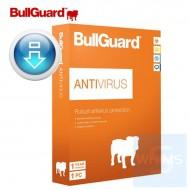 BullGuard Antivirus 1 用戶 2 年 ( 繁體 / 英文下載版 )