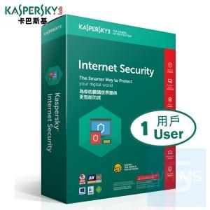 Kaspersky Internet Security - 1 用戶 3年 ( 繁體及英文 Windows + Mac 盒裝版 )
